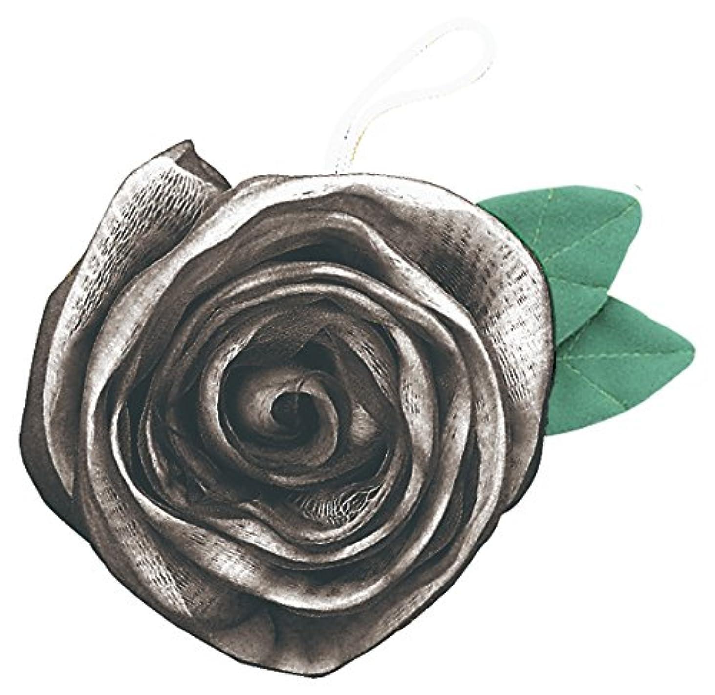 洋服はげカスタムフジインターナショナル エレガントローズ 薔薇のボディスポンジ シルバー BS-S