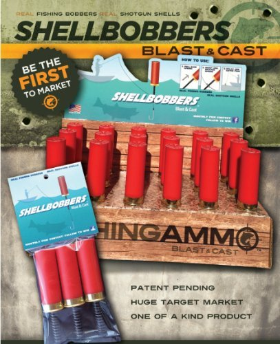 Best Bargain Fishing Ammo Shell Bobbers 3 Pack - Fishing Gear/Equipment/Supplies