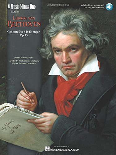 Beethoven - Concerto No. 5 in E-Flat Major, Op. 73: Music Minus One Piano