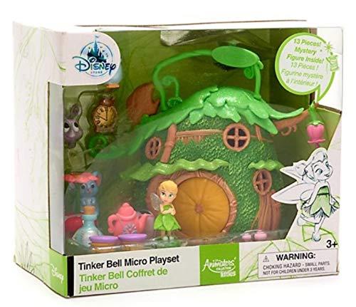 Disney Animators Tinkerbell Micro Spielset (13 Teile und Mystery Figur)