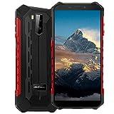 Ulefone Armor (2020), 4G IP68 Impermeable Smartphone, Moviles Resistentes con Modo Submarino, Android 10 Dual SIM, 4GB 64GB, 5000mAh Batería, Desbloqueo Facial GPS, Rojo