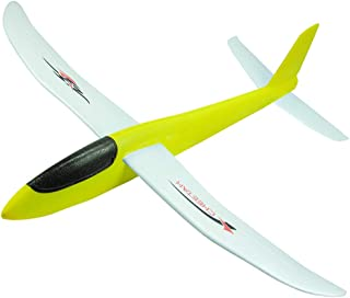 INOSA Foam Airplane Toys, Hand Launch Glider Plane Soft Foam Aircraft, Throwing Plane Outdoor Sports Toys, The Gift for Kids, Boys and Girls (Yellow)