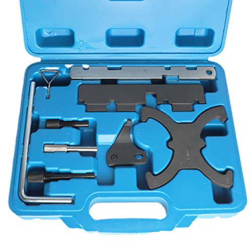 BELEY Auto Engine Camshaft Belt Timing Locking Tool Set Compatible with Ford 1.5 1.6 Fiesta VCT Focus/C Max 1.6 VCT-Ti