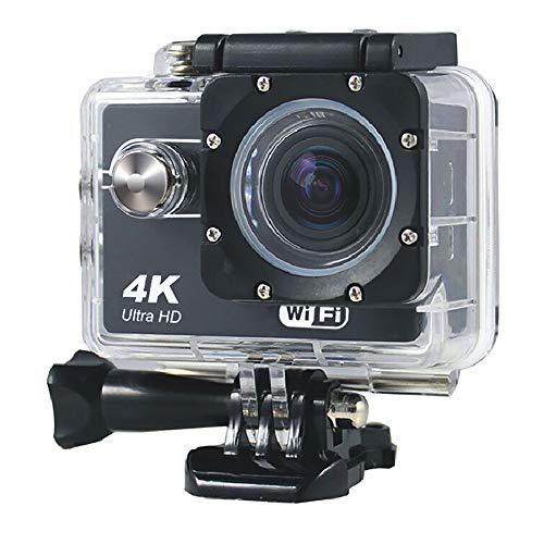 QOUP 4K Ultra HD cámara Acción WiFi, 16MP LCD de 2 Pulgadas...