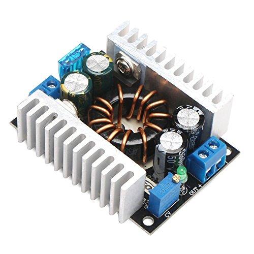 SHINA 150W DC Power Board Transformador Módulo Regulador de voltaje 10-32V / 8-16V 8-46V a 12/24V Step-up voltios Inversor Controlador Estabilizador para el coche Automotriz Vehículos de Motor Generador