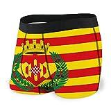 fgdhfgjhdgf Calzoncillos Calzoncillos para Hombres Chicos Bandera de girona es una Provincia de...