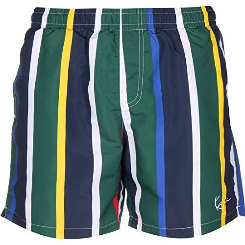Karl Kani Signature Stripe Shorts Navy