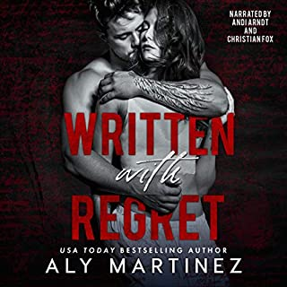 Written with Regret audiobook cover art