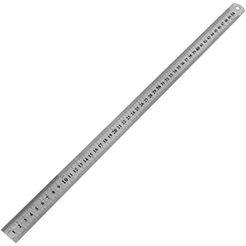 3 PCS 15//20//30cm Stahllineal Stahlmaßstab Metalllineal Lineal Werkstattlineal DE