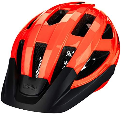 ABUS Macator Rennradhelm - Sportlicher Fahrradhelm für Einsteiger - für Damen und Herren - 87225 - Orange, Größe M