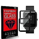 YISPIRIN Compatible con Huami Amazfit Bip S Protector de pantalla [2 piezas] Protector de pantalla...