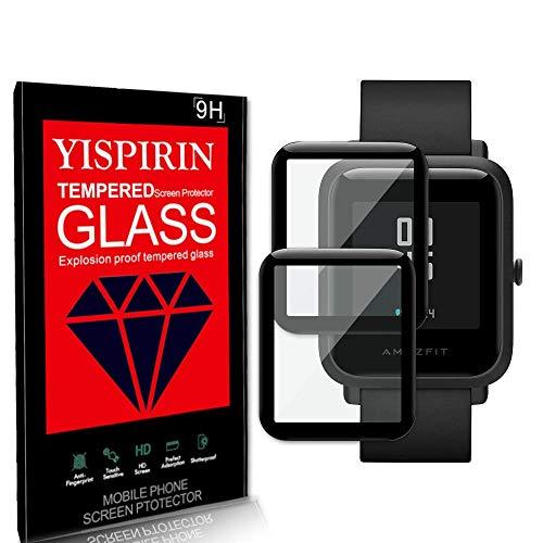 YISPIRIN Compatible con Huami Amazfit Bip S Protector de pantalla [2 piezas] Protector de pantalla Película protectora de Películas suaves [Anti-arañazos]