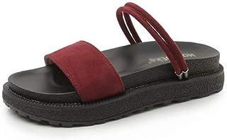 XL_nsxiezi Sandalias de Plataforma para Mujer con Zapatillas de Punta Abierta.