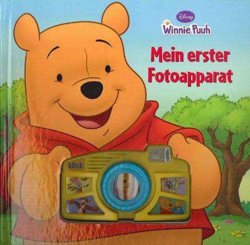 Winnie Puuh - Mein erster Fotoapparat, Buch mit Spiel-Kamera und Blitzlicht