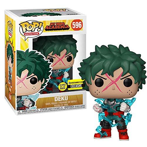 Funko Pop Mon héros académique Deku Argent âge Tout pourrait tomura shigaraki Original vinyle Figure poupées modèle jouets pour Enfants cadeaux- 596 con Caja