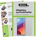 dipos I 6X Schutzfolie matt kompatibel mit LG G6 Folie Bildschirmschutzfolie