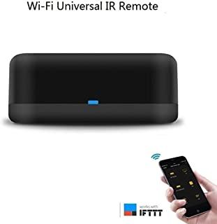 Wlansmart RM Mini WiFi+ IR Remote with Type-C Hub, Alexa Voice Control AC, TV, Compatiable with Google Home, Support iOS,Android Phone (1 Pack)