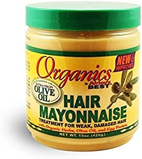 Africa's Best Organics Hair Mayonnaise 15 oz (Pack of 2)
