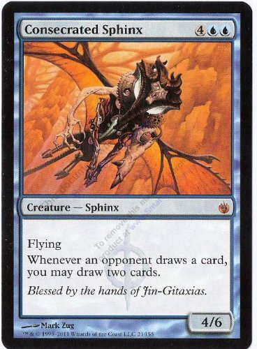 Magic: the Gathering - Consecrated Sphinx - Mirrodin Besieged
