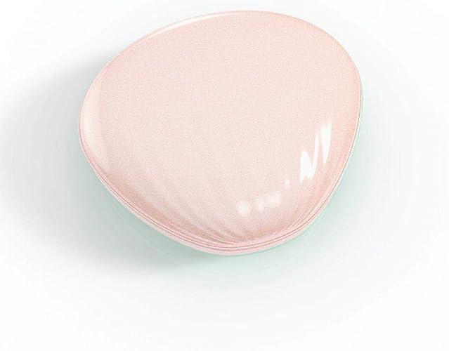 QJXSAN Réchauffeur de Main créatif Maquillage Miroir Puissance Mobile 4000 mAh Recharge trésor Main Chauffe Cadeau