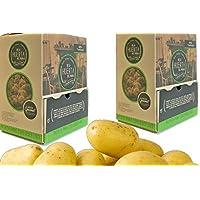 DE LA HUERTA DEL PUEBLO - Caja dispensador de patatas 6 Kg