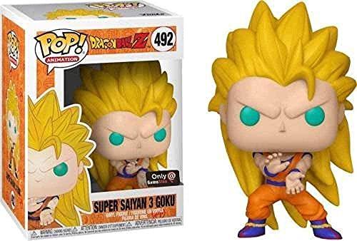 Pop Vinyl Pop Amine Dragon Ball Super Saiyan Goku Golden Frieza Great Vegeta Vinyl Figura Modelo Coleccionable con Box-668 SSGSS GOKU-156 VEGEA BLUE-319 GOTENKS-492