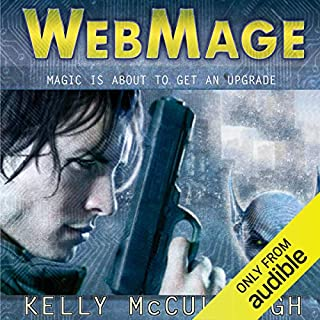 WebMage audiobook cover art
