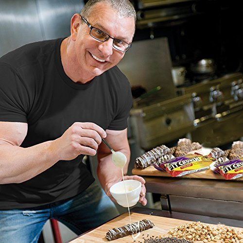 FITCRUNCH Snack Size Protein Bars | Designed by Robert Irvine | World's Only 6-Layer Baked Bar | Just 3g of Sugar