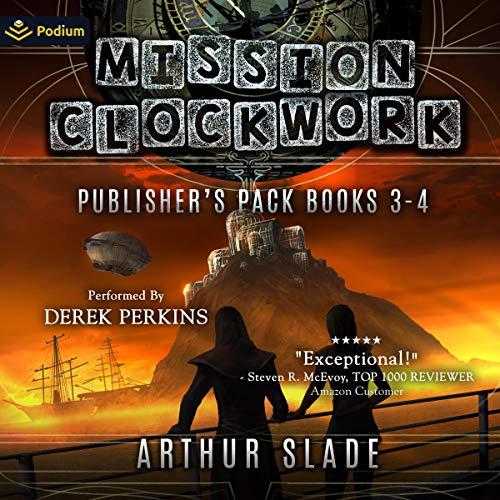 Mission Clockwork: Publisher's Pack 2 Audiobook By Arthur Slade cover art