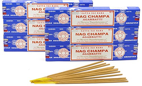 NAG CHAMPA INCENSE STICKS [6 PACKS]