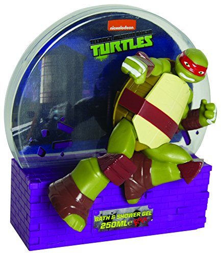 Paw Patrol Nickelodeon Teenage Mutant Ninja Turtles Raphael 3d Bain moussant, 250 ml