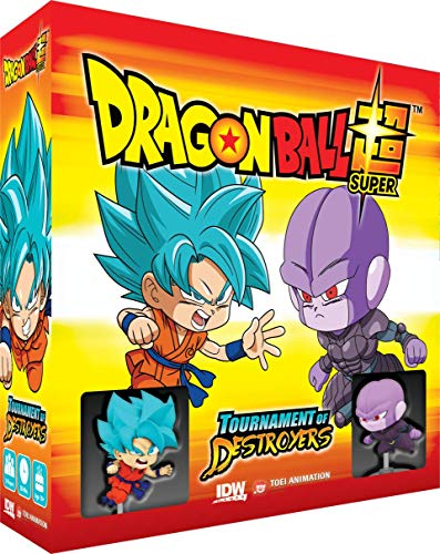 IDW Games Dragon Ball Super: Tournament of The Destroyers, Multicolor