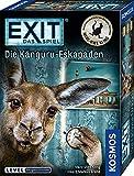 KOSMOS 695071 EXIT - Das Spiel - Die Känguru-Eskapaden, für Fans von Marc-Uwe Klings Känguru-Geschichten, Level: Fortgeschrittene, Escape Room Spiel