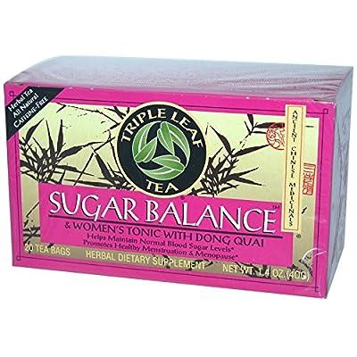 Sugar Balance Women's Tonic Tea 20 BAG (Set of 3) by Triple Leaf Tea