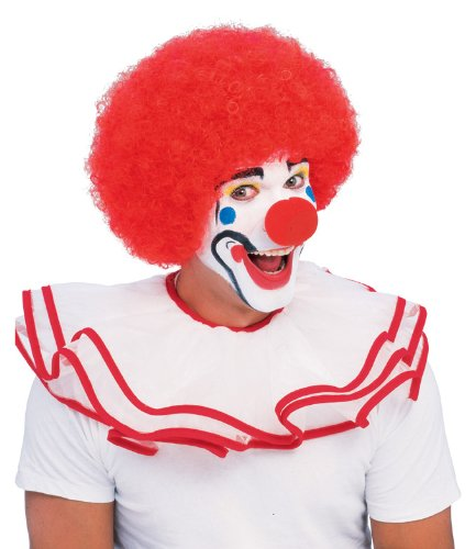 Rubie's mens Popular Price Classic Clown Wig Party Supplies, Multicolor, One Size US