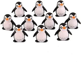 Miniature Penguin Figurine 10Pcs Fairy Garden Landscape Garden Bonsai Decor Kids Toy Mini Penguin