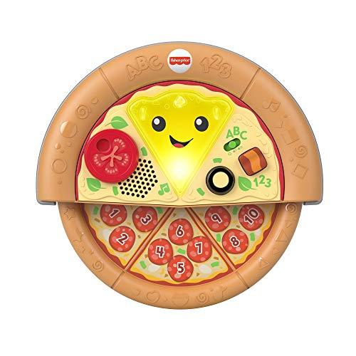 Fisher-Price Aprender e Brincar Pizza de Aprendizagem Deliciosa, Mattel