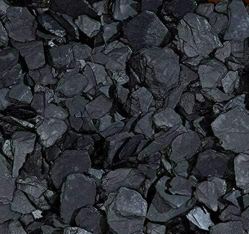 Sassi ciottoli colorati Nero Ardesia 8-16 mm decorazione giardino pietre colorate