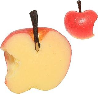 りんごハーフ 食品サンプル パーツ 料理模型 リアル 日本製