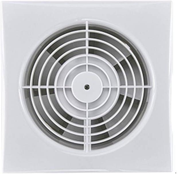 Yousiju Ventilador Tipo de ventana de baño Potente Ventilador de escape silencioso Tipo de pared Extractor de inodoro Pequeño hogar