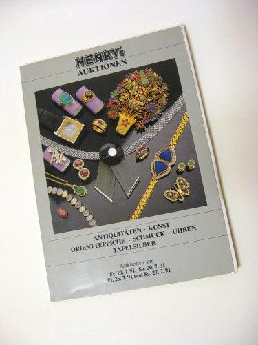 Henrys Auktionskatalog Juli 1991