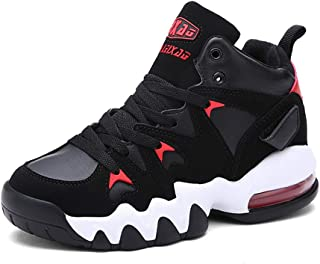 Unisex Fashion Sneakers, Lace Up Air Cushion Athletic Running Jogging Sneakers