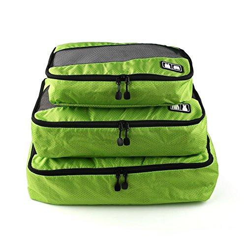 Angel one トラベルポーチ オーガナイザー トラベルケース スーツケース 旅行用ポーチ 軽量 メッシュ 仕分け 収納 ケース 旅行 出張 (3点セット)