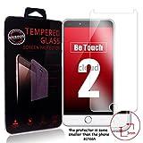 Ycloud Panzerglas Folie Schutzfolie Bildschirmschutzfolie für Ulefone Be Touch 2 / Be Touch 3 screen protector mit Festigkeitgrad 9H, 0,26mm Ultra-Dünn, Abger&ete Kanten