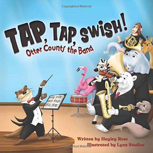 Tap Tap Swish: Otter Counts the Band