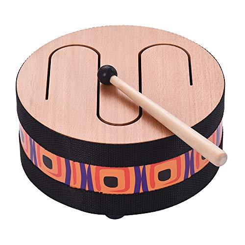 SHMGGG Tambor Instrumento Suelo de Madera Carnival Encuentro