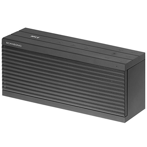 Scansonic BT200 Tragbarer Lautsprecher, Silberfarben