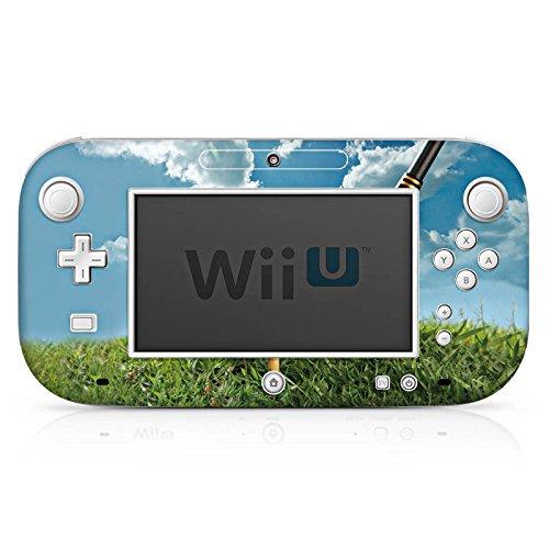 DeinDesign Skin kompatibel mit Nintendo Wii U Gamepad Folie Sticker Golf Golfschläger Sport