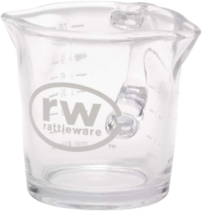 Rattleware 3-Ounce Fixed price for sale Glass Shot Cheap bargain Pitcher