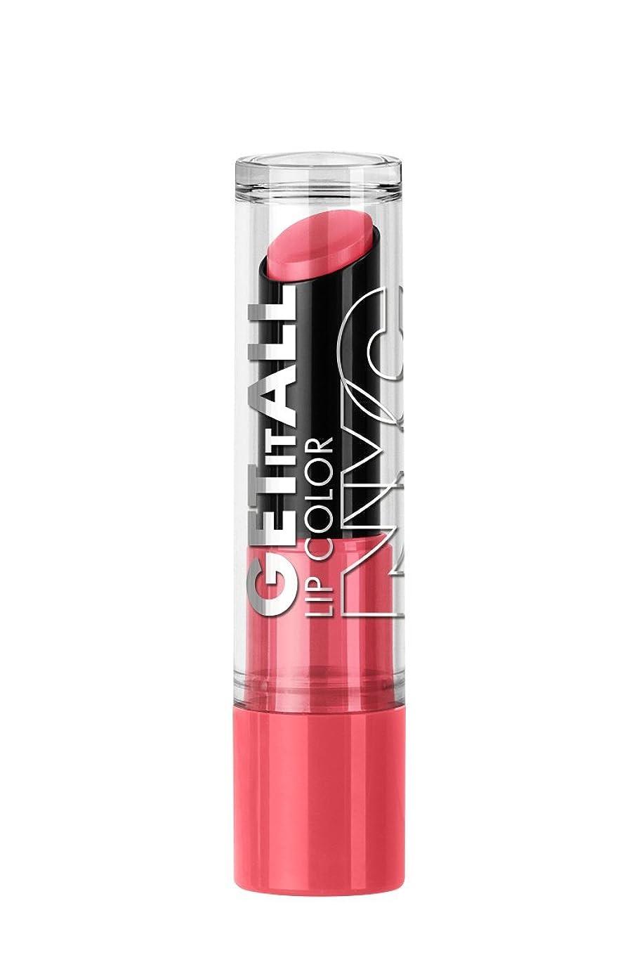 まもなく東方メンテナンスNYC Get It All Lip Color TerrifiCORAL (並行輸入品)